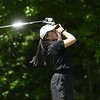 Christina Wu of Wellesley tee's off during the 2018 NCW Sectional Tournament held at Townsend Ridge Country Club on Monday.  SENTINEL & ENTEPRISE JEFF PORTER