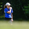 Emily Nash of Lunenburg stands on the green during the 2018 NCW Sectional Tournament held at Townsend Ridge Country Club on Monday.  SENTINEL & ENTEPRISE JEFF PORTER