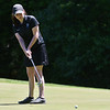 Taylor Prescott of Auburn putts the ball during the 2018 NCW Sectional Tournament held at Townsend Ridge Country Club on Monday.  SENTINEL & ENTEPRISE JEFF PORTER