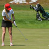 Heddie Djusberg of Ursuline comes up just shy on the putt for the 2018 NCW Sectional Tournament held at Townsend Ridge Country Club on Monday.  SENTINEL & ENTEPRISE JEFF PORTER