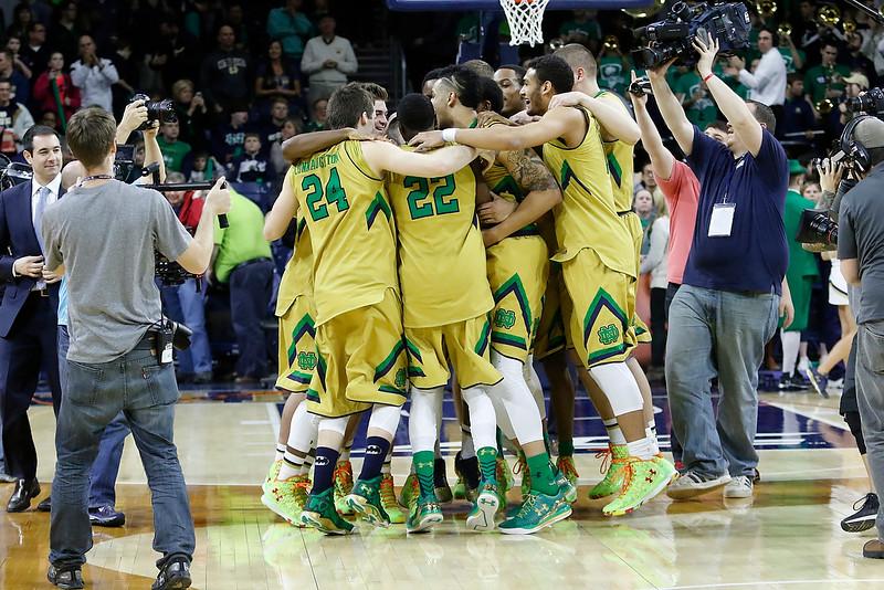 Notre Dame vs. Clemson<br /> Day:Saturday<br /> Date:Mar. 7, 2015<br /> Location:Notre Dame, Ind. (Purcell Pavilion)