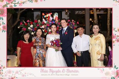 Thảo Nguyên & Damien Wedding   instant print photobooth in Thao Dien - Saigon   Chụp hình lấy liền Tiệc cưới tại TP. HCM   WEFIEBOX™ #PHOTOBOOTH VIETNAM