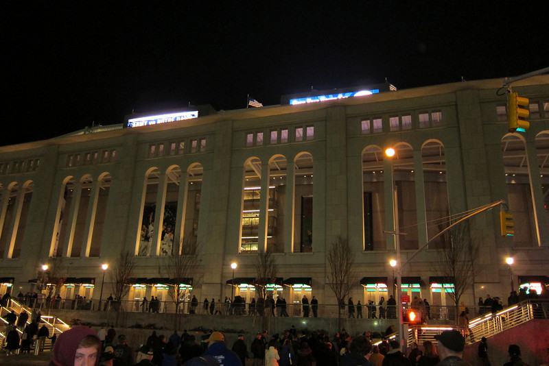 Yankee Stadium - the mausoleum