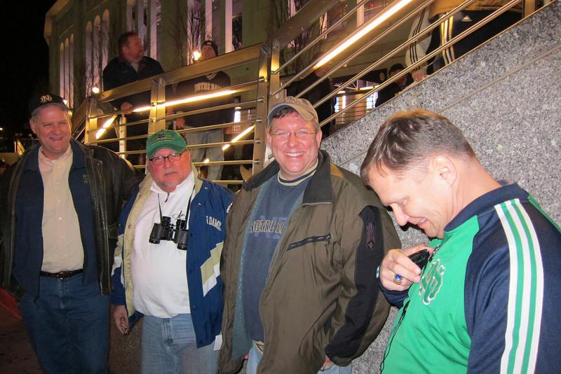 Ed Smierciak, Joe Stockrahm, Tim, Mike.