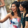 Teagan McCaffrey 17  of Hollis NH(Queen of the Selfies) takes a selfie of herself and friend Jasmin Sabah 16 of Hudson NH. At the NDA Prom SUN/David H. Brow