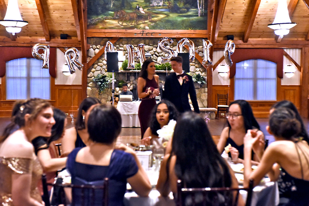 . Scene of the NDA prom in the Tewksbury CC. SUN/David H. Brow