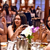 Armed with their cell phones/cameras, are NDA students at their prom, L-R, Uyen Ha 16, Amber Bonner 17 and Ayana Nangle 17 all from Lowell. SUN/David H. Brow