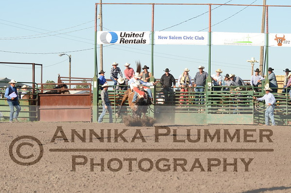 New Salem NDRA Rodeo - July 31, 2015