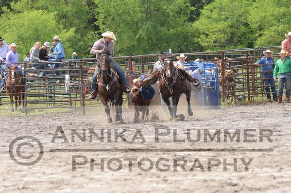 Steer Wrestling-Sheyenne-07-05-2015