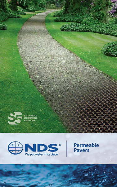 Permeable Pavers, Booth Graphic