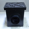 Retail catch basin & outlets with 1218 decorative grate