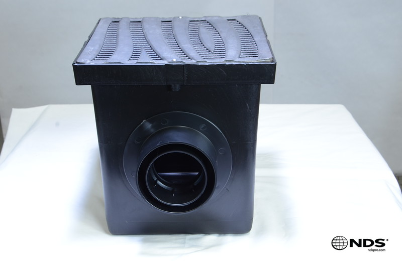 Retail catch basin & outlets with 1224CI grate