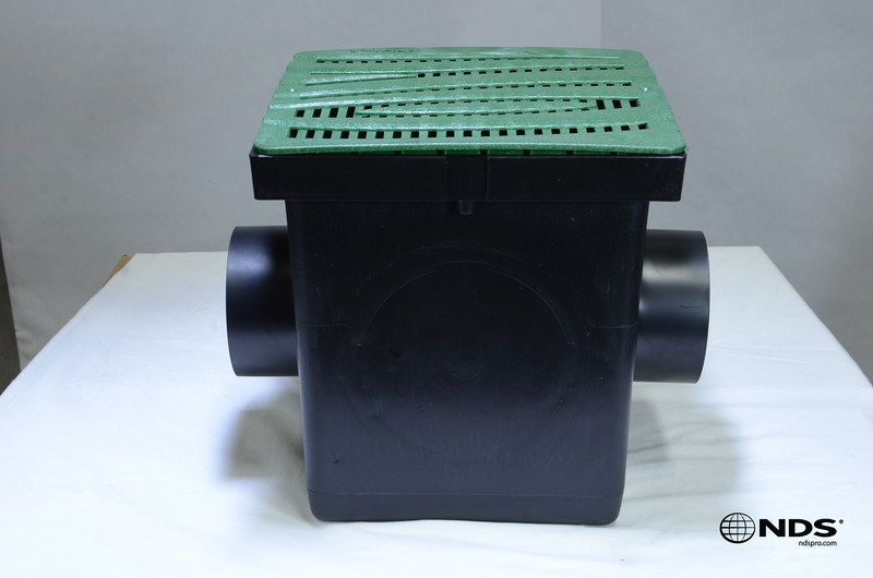 Retail catch basin & outlets with 1224GR grate