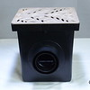 Retail catch basin & outlets with 1218S grate