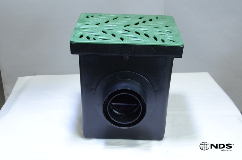 Retail catch basin & outlets with 1218GR grate