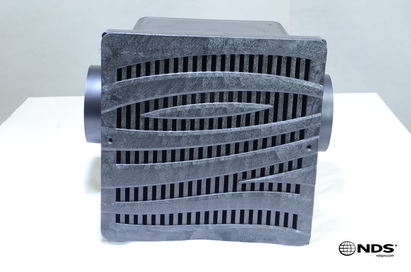Retail catch basin & outlets with 1224 grate