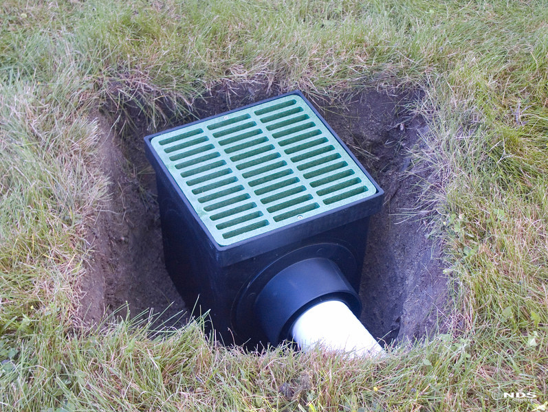 Catch Basin - In Use