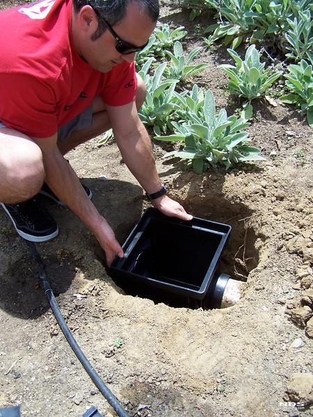 Catch Basin - In Use