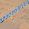 Decorative Channel Drain Grates -- In Use