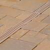 Decorative Channel Drain Grates -- In Use