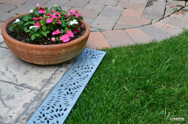 Decorative Spee-D Channel Grates - In Use