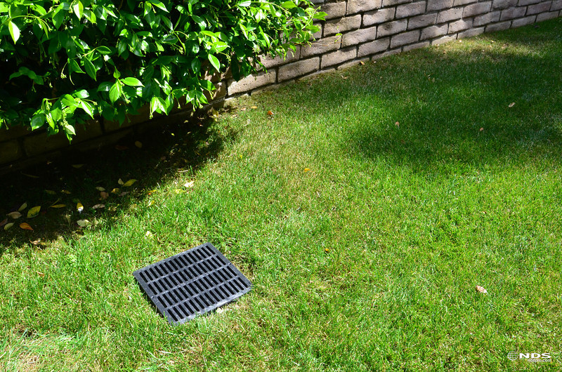 Catch Basin Grates -- In Use