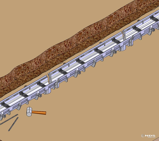Dura Slope Trench Drain - CAD and Line Art