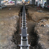 Dura Slope Trench Drain - In Use