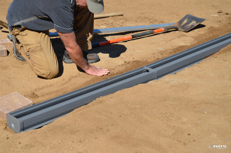 Spee-D Channel Drain - In Use