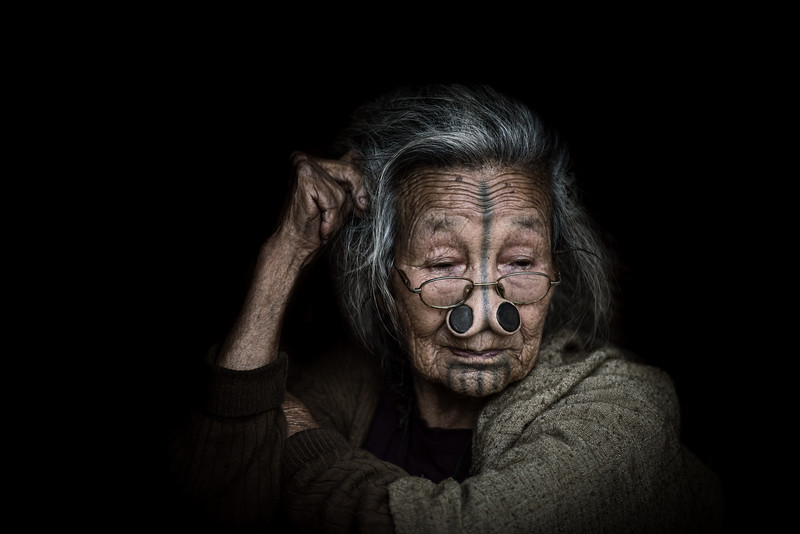 Tribeswoman of the Apatani