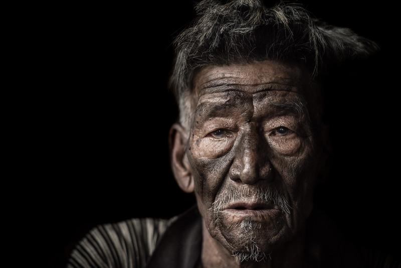 Konyak portrait