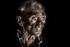 Old Konyak man
