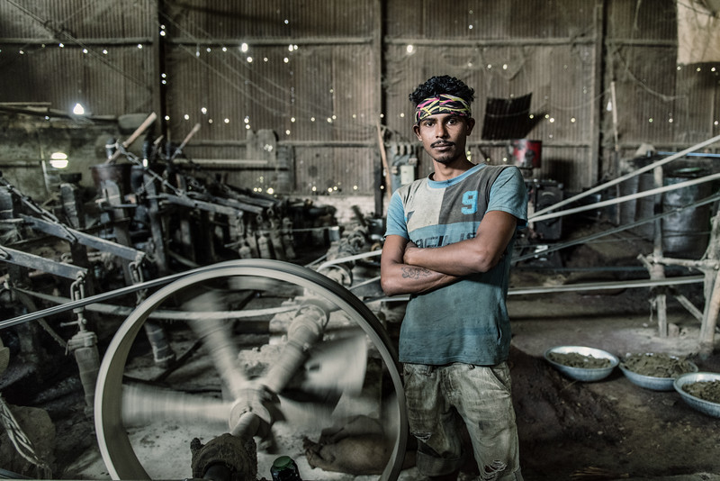 Oil seed worker, Majuli