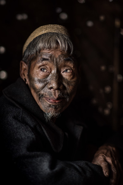 Elder of the Konyak tribe