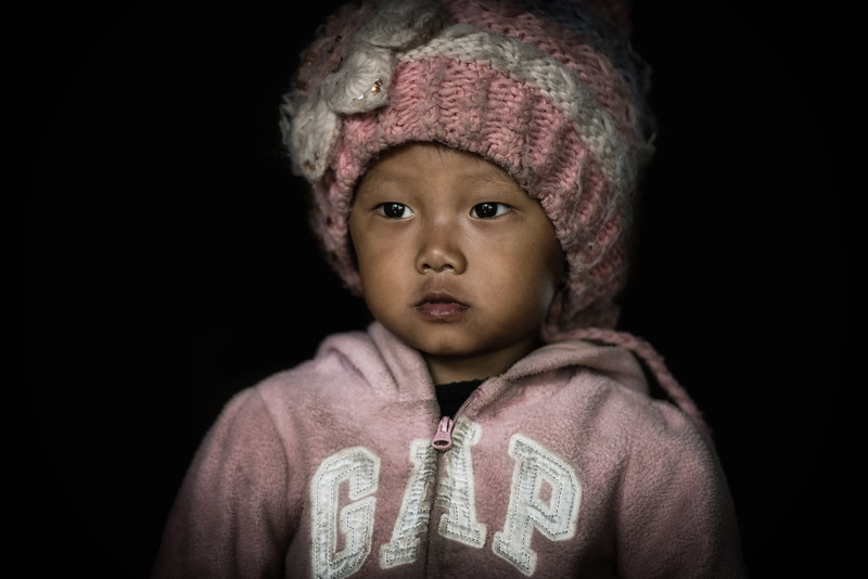 Baby girl Konyak