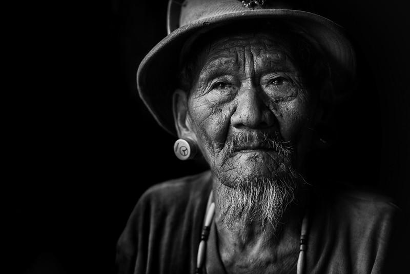 The life of a Konyak tribesman, Nagaland