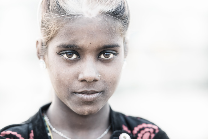 Young Balipara girl