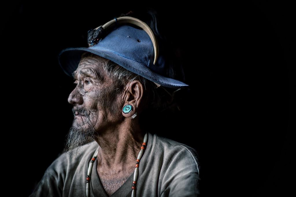 Old Konyak warrior