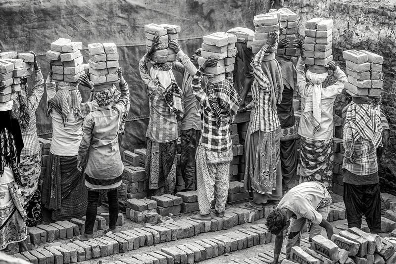 Girls of burden, Assam