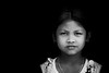 Young assam girl, India