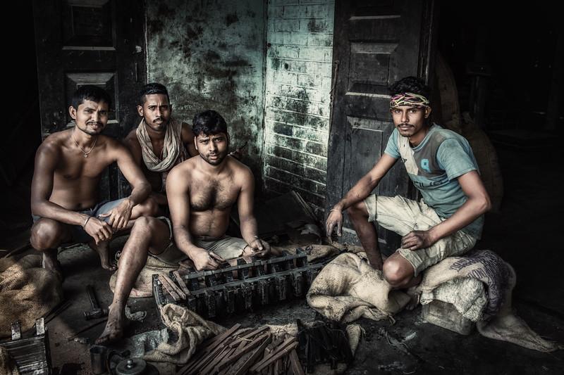Oil seed factory - millet, Majuli