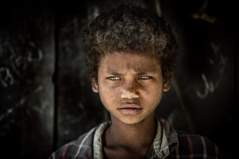 Green eyed boy of Assam