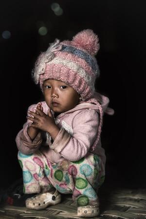 Konyak baby girl