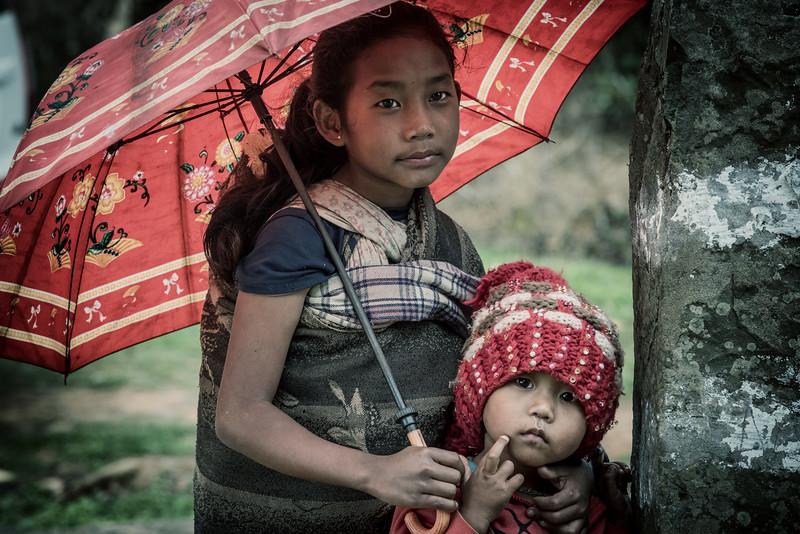 Beauty of children, Konyak , Nagaland