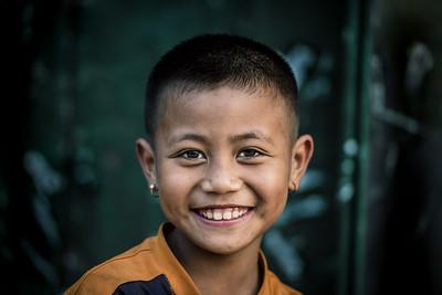 A mon smile