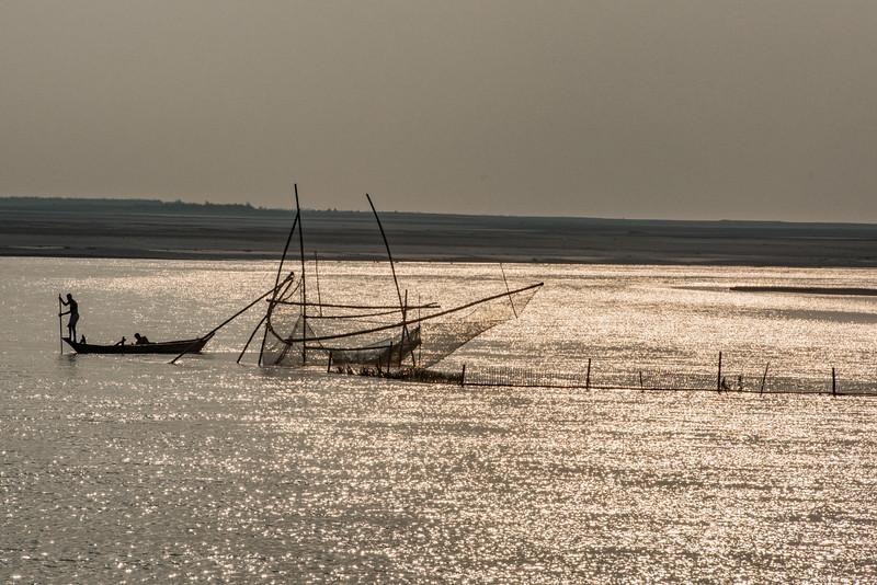 Fishing nets Majuli Island