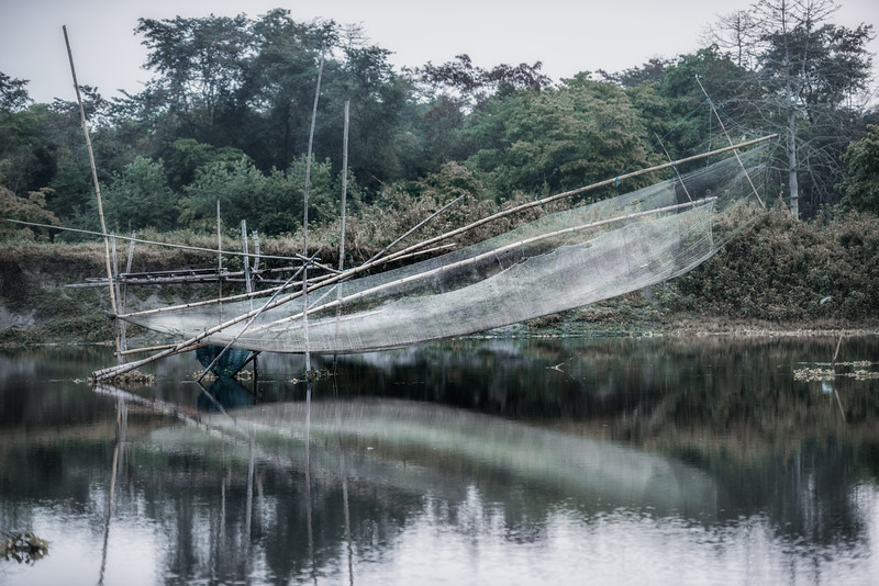 Majuli fishing net