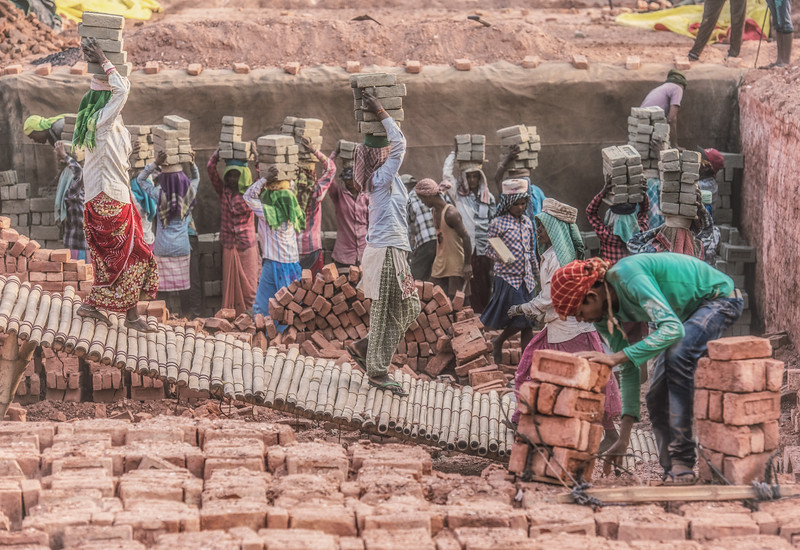 Brickworks in Assam