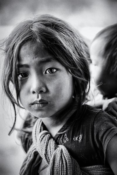 Eyes of a Konyak girl, Hongphui