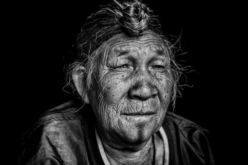 Elder of the Apatani, Ziro